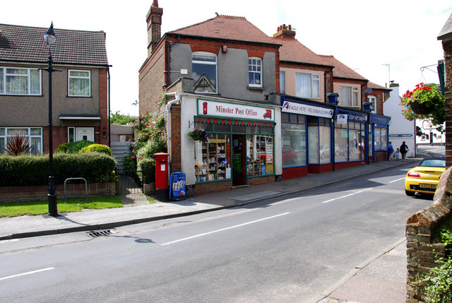 The Post Office, Minster, Thanet, Kent