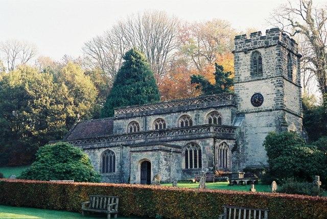 Stourton: parish church of St. Peter