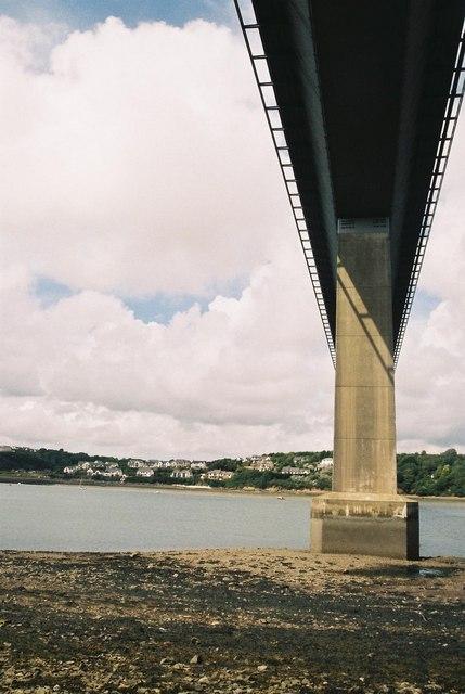 Under Cleddau Bridge