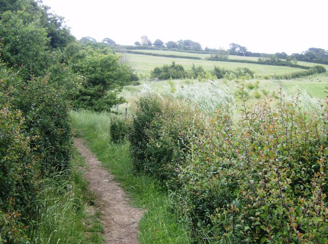 Footpath to Bembridge Mill