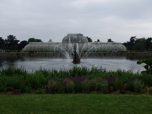 Palm House and Fountain