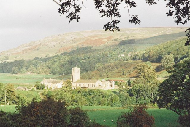 Swaledale: Marrick Priory from the B6270