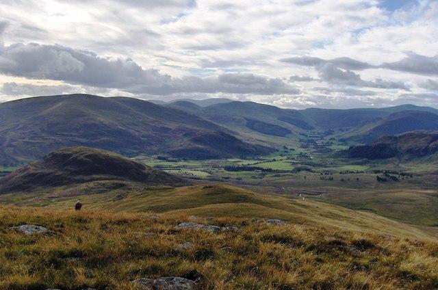 Duchray Hill - west ridge