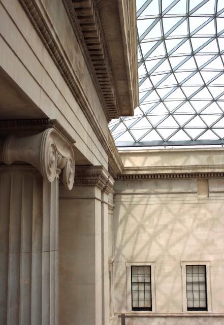 Portico, Great Court, British Museum