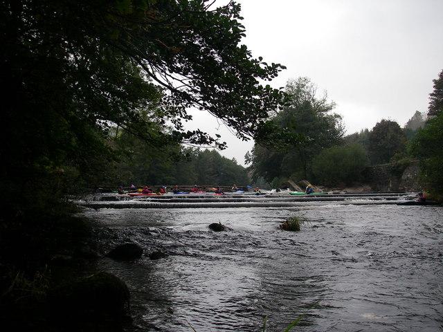 Salmon Leap Weir