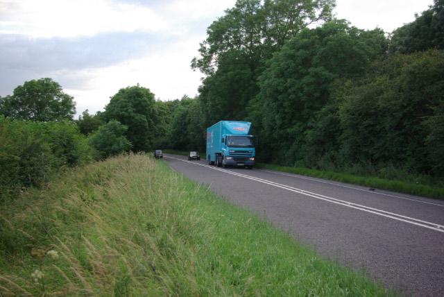 A43 near Weldon
