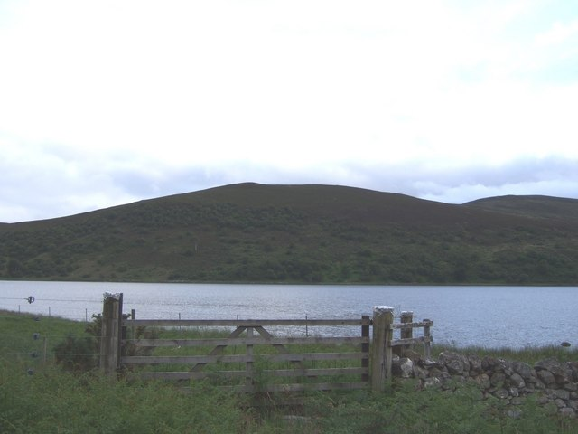 View across the north end of Brora Loch
