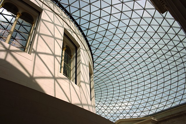 Great Court, British Museum - glass roof