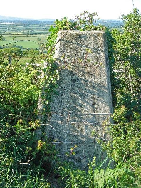 Triangulation Pillar and view North