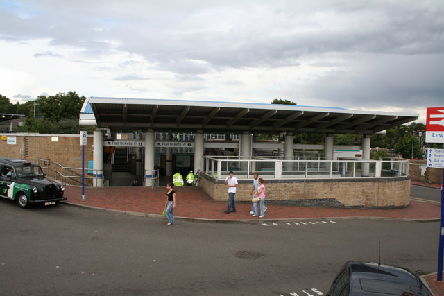 Docklands Light Railway station at Lewisham
