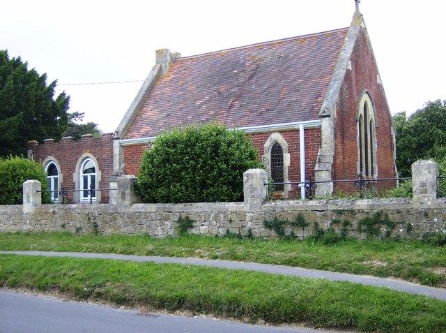 St. Gile's Chapel, Beach Road, Bembridge