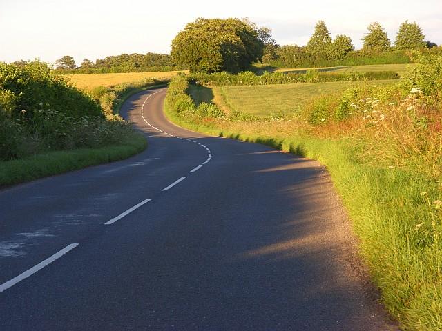 Road near Middle Wallop