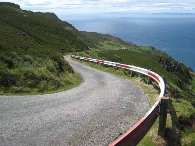 The road to the Lighthouse, Mull of Kintyre