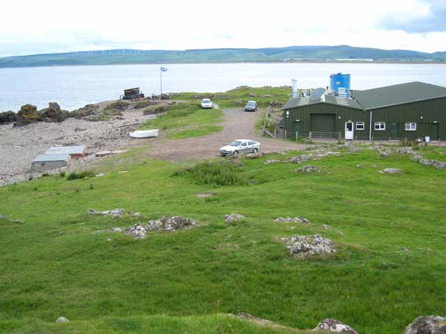 The headland at Uisaed, Machrihanish