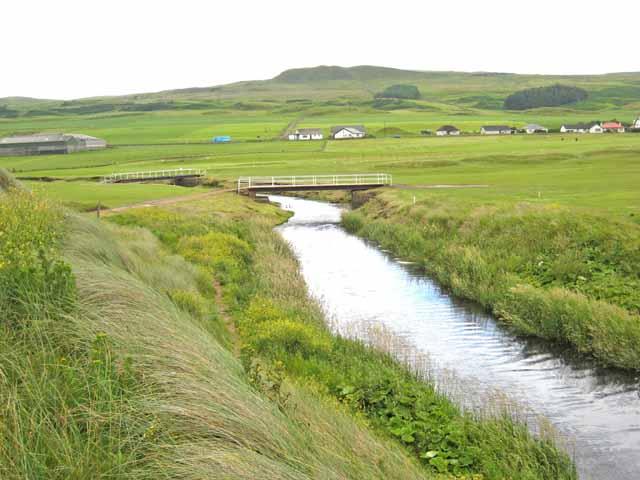 Bridges over the Machrihanish Water