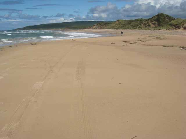 Machrihanish Beach, looking north