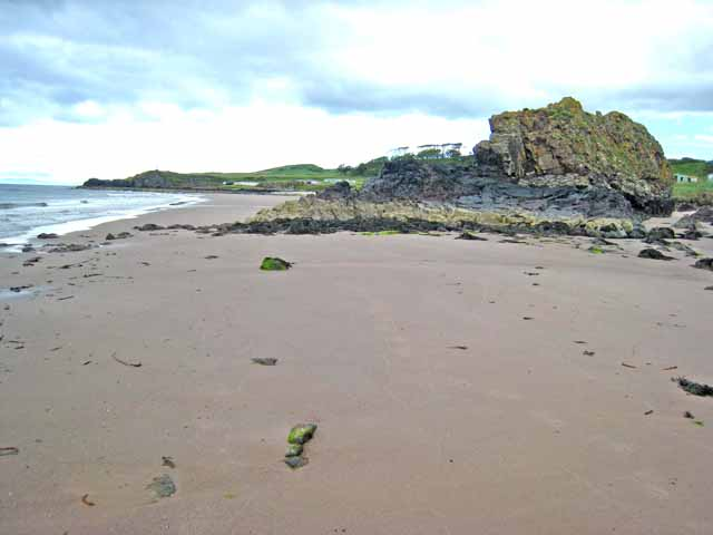 The beach at Macharioch Bay