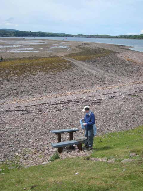 Landfall on Island Davaar