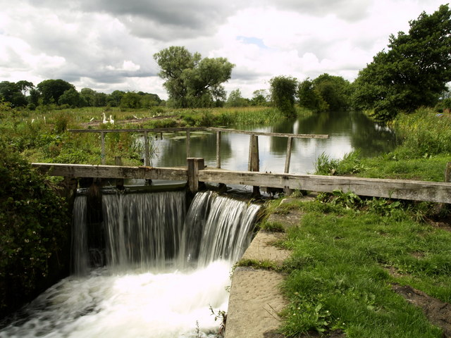 The Driffield Canal at Wansford