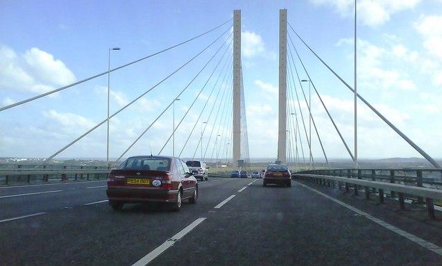 Crossing The Dartford Bridge