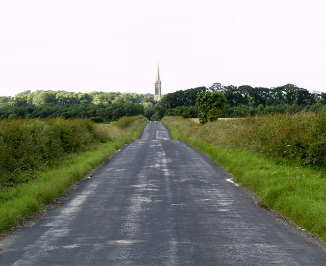 South Dalton Spire from the Etton road