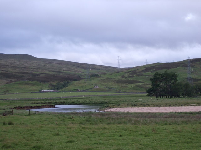 View across Strath Brora