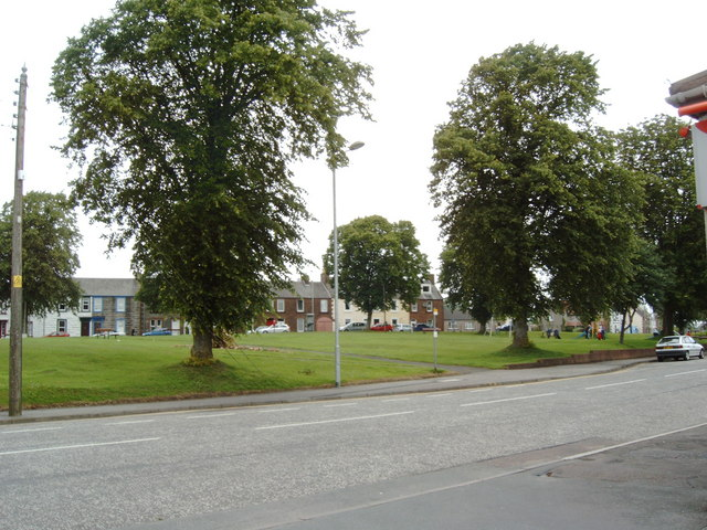 Park in town centre of Castle Douglas