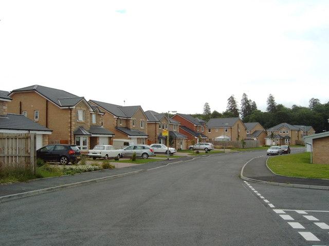 New housing near Garden Hill, Castle Douglas