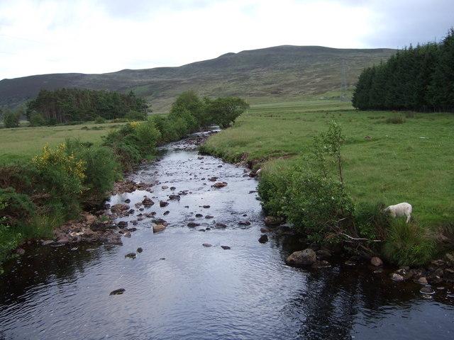 Downstream Allt a'Mhuilinn