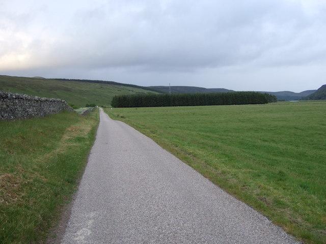 Balnacoil road