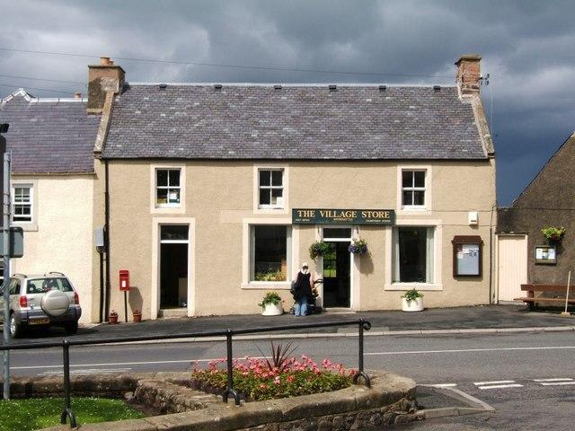 Village stores, Morebattle