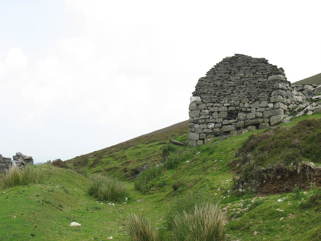 The sheaves house at the top of the incline leading down to Deeside Quarry