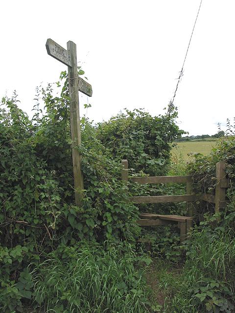 Stile near Pontshill
