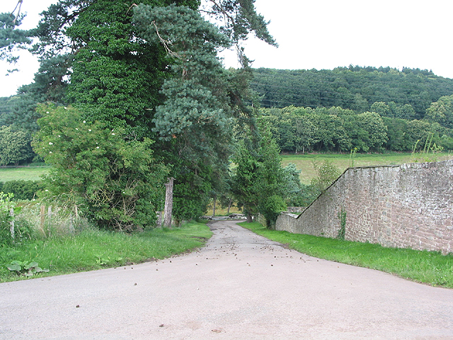 Entrance to Cobrey Farms chicken site