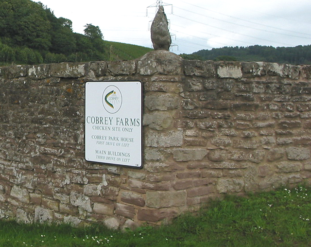 Cobrey farms sign