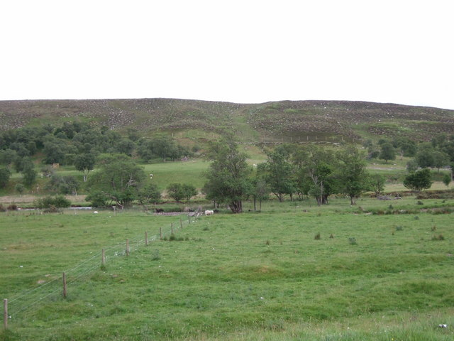 View across Strath Brora