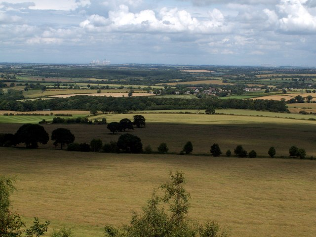 Wheatley Wood looking to Notton Village