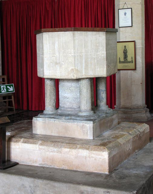 All Saints, Weston Longville, Norfolk - Font