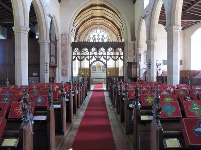 All Saints, Weston Longville, Norfolk - East end