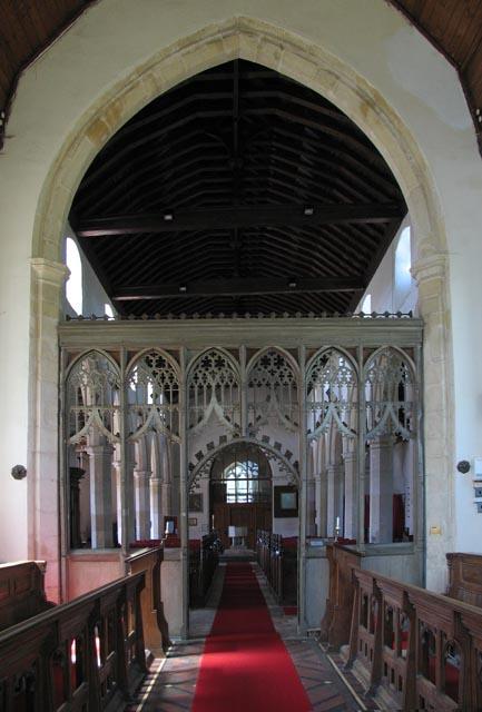 All Saints, Weston Longville, Norfolk - West end