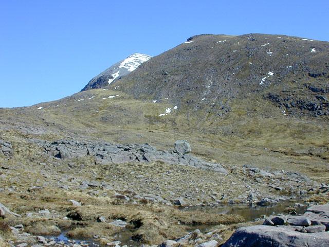 Meall Garbh, from below Beinn Tarsuinn