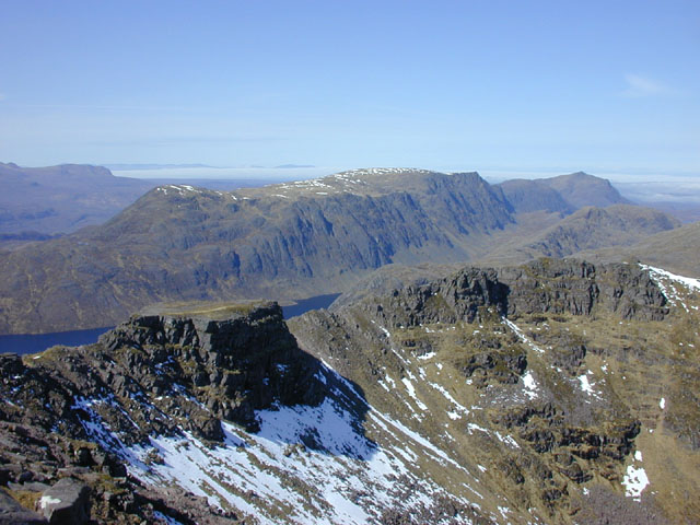 View west from Beinn Tarsuinn