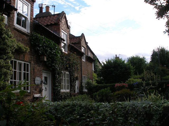 Ivy Cottages, overlooking the green