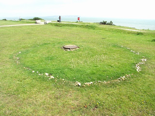 Fairy Ring on the Cliff Top