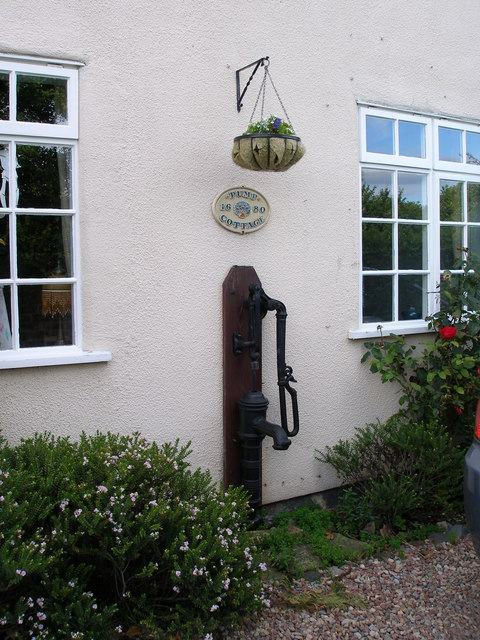 The pump at Pump Cottage