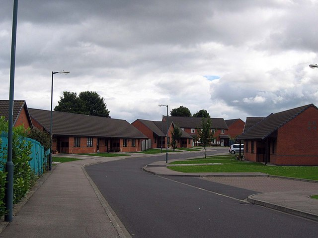 Whitwell Court: Aged Miners Association Bungalows