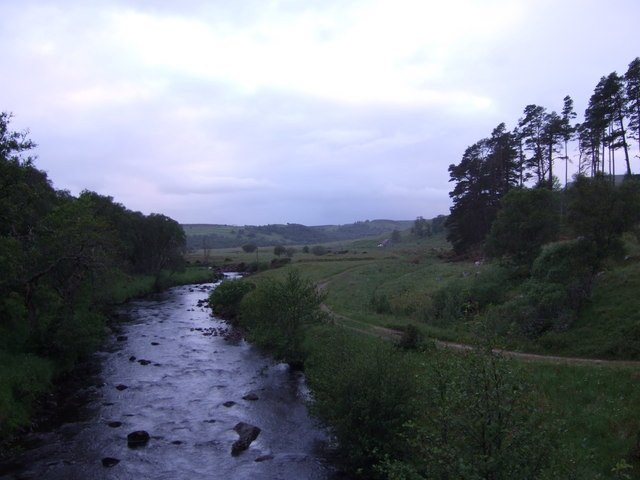 Downstream River Brora