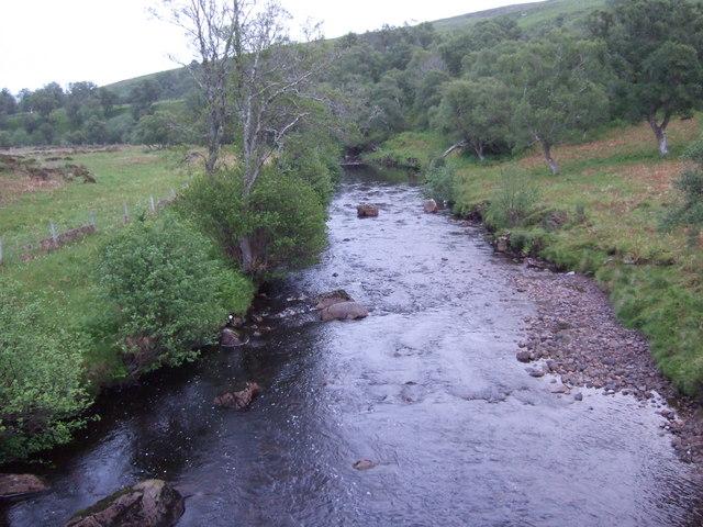 Upstream River Brora