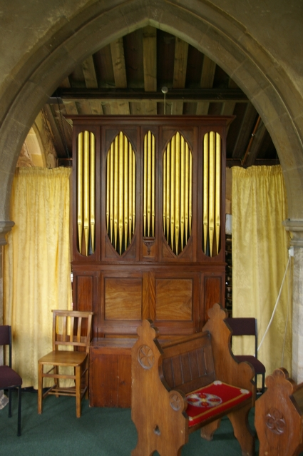 Organ in St Helen's Church