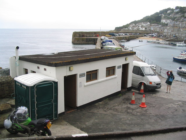 Public conveniences, Mousehole harbour